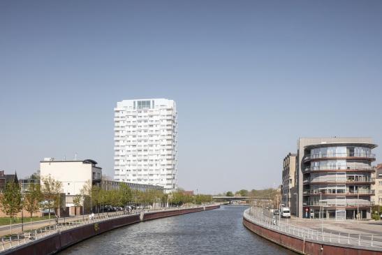K-TOWER in Kortrijk aan de Leie